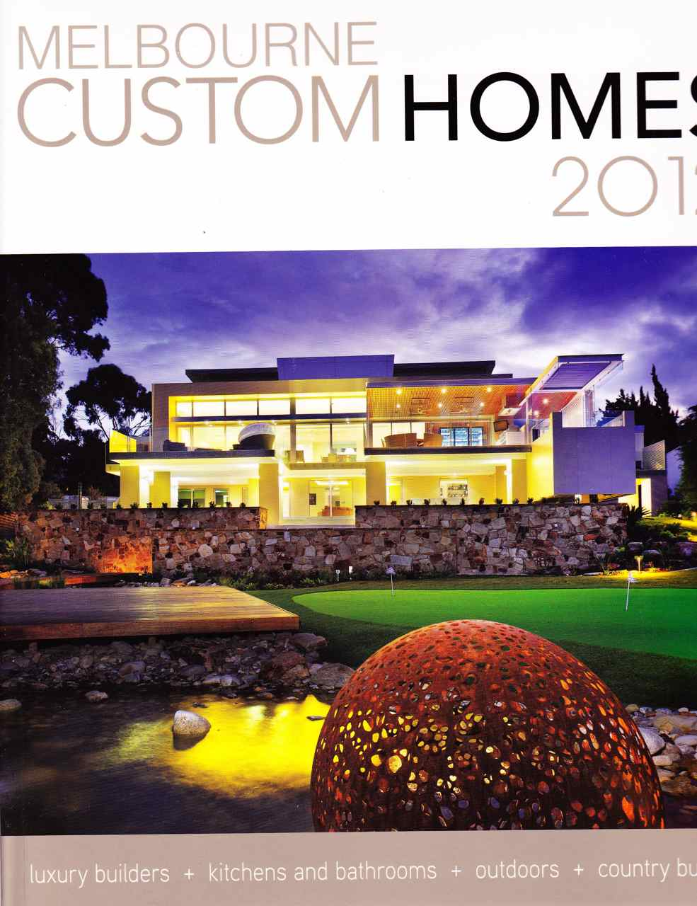 """Melbourne Custom Homes"" magazine released"